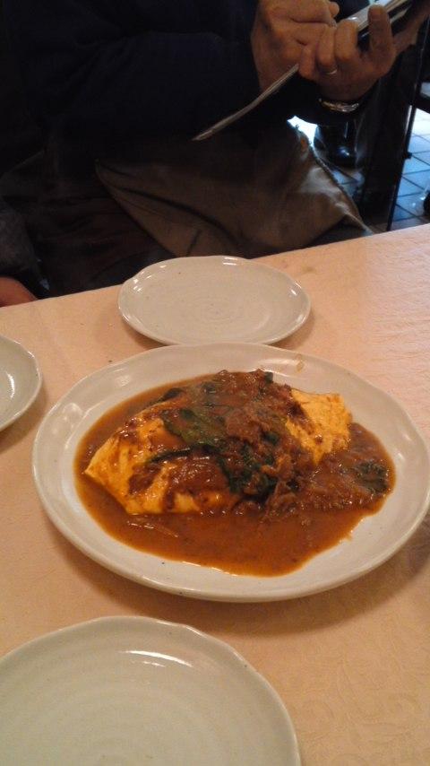 レストランZOOさんの逸品「激ふわとろオムライス」を試食